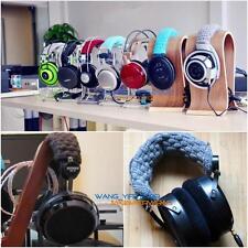 Hand-Knit Pure Wool Headband Cushion For HE 6 4 HE 500 300 400 HE5LE Headphones
