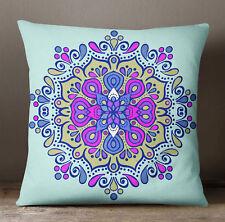 S4Sassy oreiller clair affaire Mandala imprimé housse coussin canapé décoratif