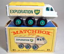 Matchbox RW 61B Alvis Stalwart glatter Boden in Box