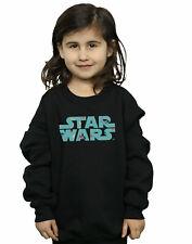 Star Wars Girls Retro X-Wing Pattern Logo Sweatshirt