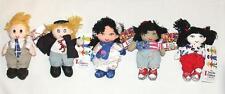 "SAVE THE CHILDREN 7"" Worldly Culture Beanbag Plush Doll Yarn Hair NWT Dtd 1999"