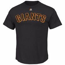 MLB béisbol San Francisco Giants t-shirt Word mark de Majestic