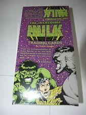 Incredible Hulk Comic Images Box of Cards