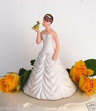 Bride & Frog Groom Humorous for Loving Fairytale Couple Wedding Cake Topper New