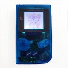Refurbished Clear Blue Nintendo Game Boy Original DMG-01 Backlight MOD Console