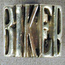 LETTERED BIKER RING BR110 choppers rings motorcyle MENS WOMENS B I K E R WORD