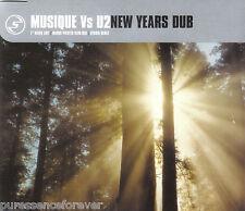 MUSIQUE vs U2 - New Years Dub (UK 3 Track CD Single)