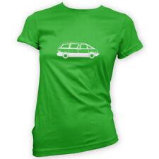Previa MPV Womens T-Shirt -x14 Colours- People Carrier Estima Japan JDM