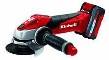 Einhell 4431119Meuleuse 18V, 115mm, 8500min-1, avec batterie et chargeur ...