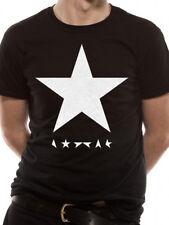 UFFICIALE David Bowie-Blackstar-Black Star Unisex Maglietta-S M L XL XXL