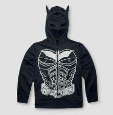 BATMAN boys vibrant hooded sweatshirt jacket Size S-XL Age 6-13 years