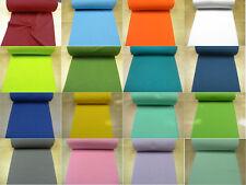 Bündchen Bündchenstoff Schlauchware glatt uni Jersey 0,5m OEKO-TEX®Standard 100