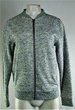Women's Grey Full Zip Jacket