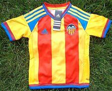 Fc valencia niños Kids camiseta Jersey camiseta adidas talla 128-164 + nuevo + Fan