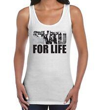 Ska'd For Life Ska Women's Vest Tank Top - Mod The Specials 2 Tone T-Shirt