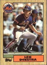 1987 Topps Tiffany Baseball Card Pick 295-593