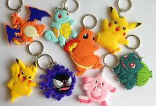Pokemon anime Key ring Key chain Pendants Doll Toy