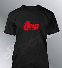 Tee shirt personnalisé homme David Bowie chanteur singer star