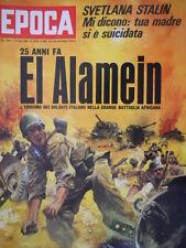Epoca 888 1967 Catherine Denevue.Al Bano.25 anni fa:Italiani-battaglia africana