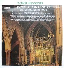 HYMNS FOR BRASS - London Evangelist Brass Choir - Ex LP Record Chevron CHVL 126