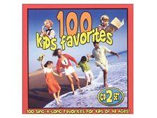 100 Kids Favorites DISC 1 ONLY - Bingo / Jack & Jill / Old McDonald / Akin Drum