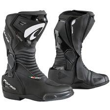Forma Hornet Dry Waterproof Motorcycle Motorbike Race Boots - Black