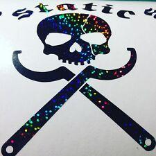 static skull car sticker lowered stance drift jdm dub car sticker