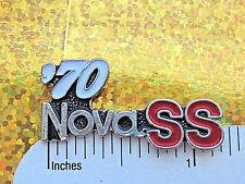 1963, 1964, 1965, 1967, 1969, 1970, 1971, 1972, 1973, 1974 NOVA SS -  hat pin