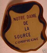 Notre-Dame de la Source Compiegne France Hat Lapel Pin HP8059