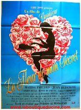 FLEUR DE MON SECRET Affiche Cinéma /  Poster ALMODOVAR