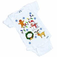 "UGLY Christmas ""Sweater"" design Onesie ( or Tee Shirt ) Funny Christmas gift"