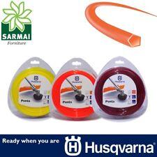 Husqvarna Penta pentagonale bobina filo per decespugliatore 5 taglienti vari Ø