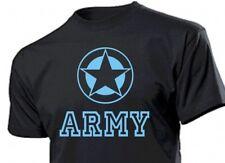 T-Shirt Allied Star Army Us Blu Marino Airforce Usmc Guarnizioni Vietnam Tg.