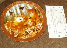 Danbury Mint Garfield God Created Leaves Jim Davis Dear Diary Series Coa
