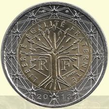 2 Euro Kursmünze FRANKREICH unc - Prägejahr wählbar !!! - 1999 bis 2017 - NEU !