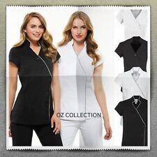 NEW Premium Ladies Zen Crossover Tunic Chemist Beauty Salon Medical Women Wear