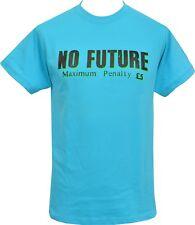 Homme T-shirt bleu sans avenir Seditionaries 1977 Original London Punk Rock 1977
