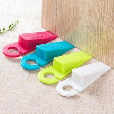 Hanging Rubber Door Stopper Hook Safety Protector Blocker Home Draft AL