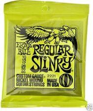 Ernie Ball Regular Slinky Guitarra Eléctrica Cuerdas 10 - 46
