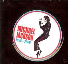 MICHAEL JACKSON 1958-2009 MEMORY pin Button #6