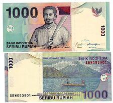 Indonesie INDONESIA Billet 1000 RUPIAH 2009 CAPITAIN PATTIMURA NEUF UNC