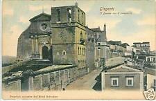CARTOLINA d'Epoca: GIRGENTI - Agrigento SICILIA