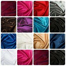 "Taffeta Fabric - 13 Plain Colours - 100% Polyester Material - 57"" (145cm) wide"