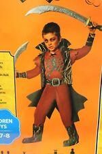 DEMON BOYS COSTUME Small Medium Halloween Red Scary Devil Child Kids Devil NEW