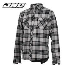 One industries homme tech casual chemise en flanelle à manches longues motocross mx