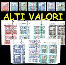 ITALIA 1978 1987 Alti Valori 7v. 1500 2000 3000 4000 5000 10000 20000 MNH **