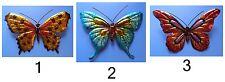 Farfalla grande colorata in metallo da appendere artigianato orientale