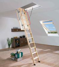 Bodentreppe FAKRO LTK ENERGY  aus Holz Speichertreppe U=0,68 W/m2K