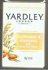 YARDLEY NATURAL MOISTURIZING BAR OATMEAL ALMOND SOAP