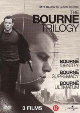 THE BOURNE TRILOGY TRILOGIE : BOURNE IDENTITY - SUPREMACY - ULTIMATUM - NIEUW